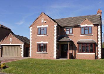 Thumbnail 4 bed detached house for sale in Bredon Close, Little Sutton, Ellesmere Port