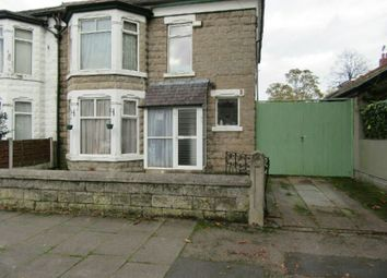 Thumbnail 4 bed semi-detached house for sale in Ollerton Avenue, Old Trafford, Manchester