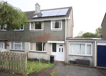 Thumbnail 4 bedroom semi-detached house to rent in Penarrow Close, Falmouth