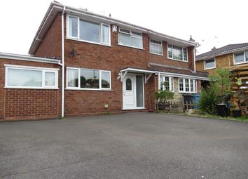 Thumbnail 3 bed semi-detached house for sale in Clee View Road, Wombourne, Wolverhampton