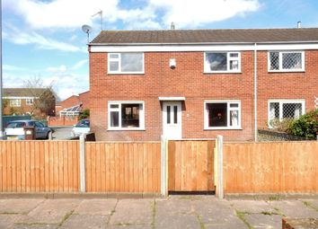 Thumbnail 3 bed semi-detached house for sale in Mercia Close, Worksop