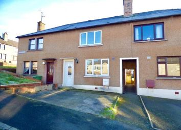 Thumbnail 2 bed terraced house for sale in Rosebank Crescent, Lockerbie, Dumfries And Galloway