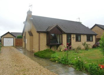 Thumbnail 3 bed detached bungalow for sale in Orchard Close, Morton, Bourne, Lincolnshire