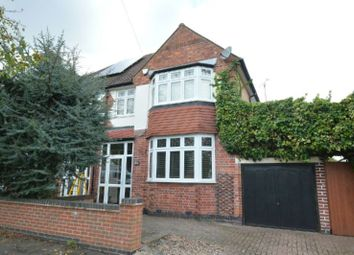 Thumbnail 3 bed semi-detached house for sale in Howard Road, Glen Parva, Leicester