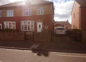 Thumbnail 3 bed semi-detached house for sale in Avondale Avenue, Forest Hall, Newcastle Upon Tyne