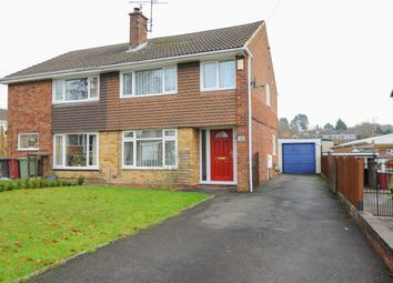Thumbnail 3 bed semi-detached house to rent in Deerpark Crescent, Wingerworth, Chesterfield