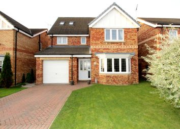 Thumbnail 6 bed detached house for sale in Cawthorn Close, Driffield