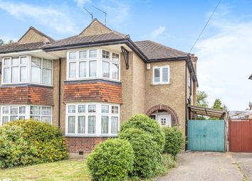 Thumbnail 3 bed semi-detached house for sale in Headstone Lane, Harrow
