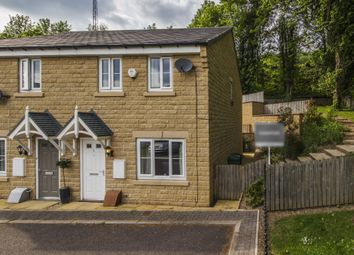 Thumbnail 3 bed end terrace house for sale in Mill View, Milnsbridge, Huddersfield