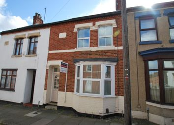 Thumbnail 3 bed terraced house to rent in Junction Road, Northampton