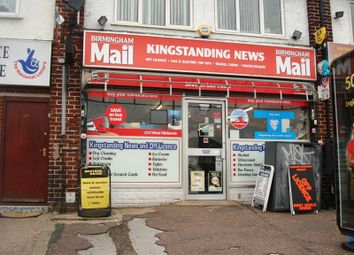 Thumbnail Retail premises for sale in Kingstanding Road, Kingstanding