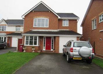 Thumbnail 4 bed detached house to rent in Fennel Close, Bispham