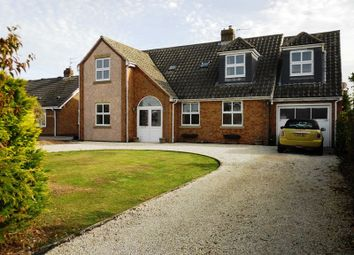Thumbnail 5 bed detached house for sale in Eastfield Road, Keyingham, Hull