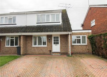 Thumbnail 4 bedroom semi-detached house for sale in Hilltop View, Yateley, Hampshire