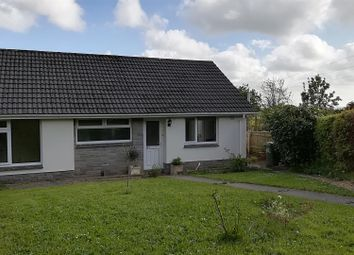 Thumbnail 2 bed semi-detached bungalow to rent in Southernhay, Winkleigh