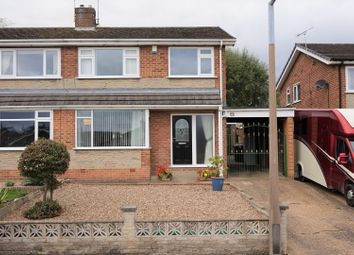 Thumbnail 3 bed semi-detached house for sale in Scholey Avenue, Woodsetts