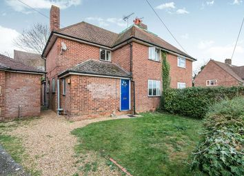Thumbnail 5 bed semi-detached house to rent in Fox Lane, Winchester