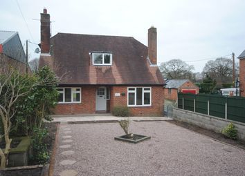 Thumbnail 3 bed detached bungalow to rent in Whitchurch Road, Prees, Whitchurch