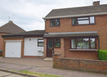 Thumbnail 4 bed semi-detached house for sale in Chestnut Crescent, Bletchley, Milton Keynes