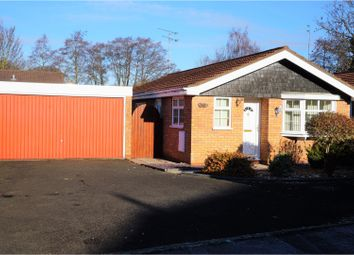 Thumbnail 2 bed detached bungalow for sale in Rosebay Grove, Wombourne, Wolverhampton