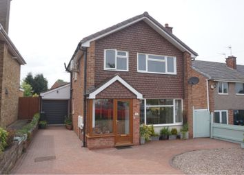 Thumbnail 3 bed detached house for sale in Autumn Drive, Lichfield