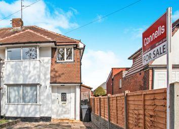 Thumbnail 3 bedroom semi-detached house for sale in Yarningale Road, Kings Heath, Birmingham