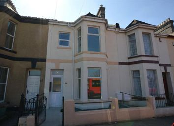 Thumbnail 1 bed terraced house for sale in Pomphlett Road, Plymouth, Devon