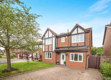 Thumbnail 5 bedroom detached house for sale in Dunlin Close, Ryton