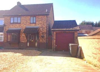 Thumbnail 3 bed semi-detached house for sale in Freshwater Close, Luton, Bedfordshire