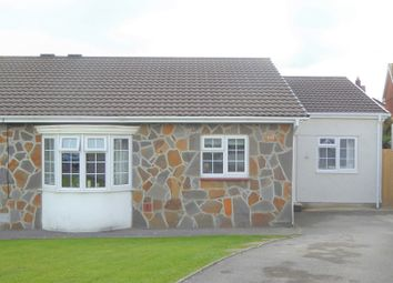 Thumbnail 3 bedroom semi-detached bungalow for sale in Ty Gwyn Drive, Brackla, Bridgend.