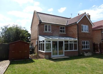 Thumbnail 5 bed detached house to rent in Prospect Close, Freethorpe, Norwich