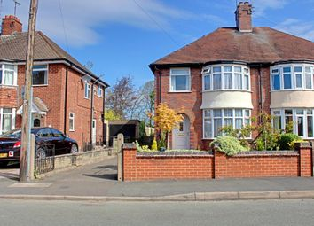 Thumbnail 3 bed semi-detached house for sale in Stanley Crescent, Uttoxeter