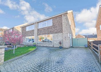 Thumbnail 4 bedroom semi-detached house for sale in Rosedale, Bottesford, Scunthorpe