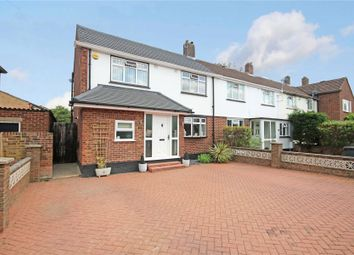 Thumbnail 3 bed end terrace house for sale in Chertsey, Surrey