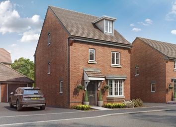 "Thumbnail 4 bed detached house for sale in ""Bayswater"" at Locksbridge Road, Picket Piece, Andover"