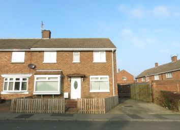 Thumbnail 4 bed semi-detached house for sale in Newark Close, Peterlee