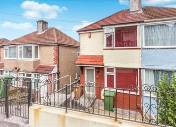 Thumbnail 2 bed semi-detached house for sale in Cardinal Avenue, Plymouth