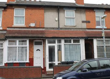 Thumbnail 3 bed terraced house for sale in Farnham Road, Handsworth, Birmingham