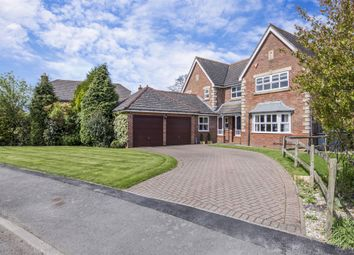 Thumbnail 4 bed detached house for sale in Saracen Drive, Balsall Common, Coventry