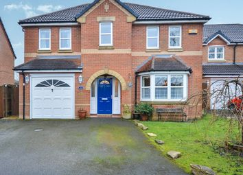 Thumbnail 4 bed detached house for sale in The Steeples, Annesley Woodhouse, Nottingham