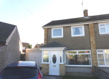 Thumbnail 3 bed semi-detached house for sale in Hall Close, North Cornelly, Bridgend
