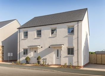 "Thumbnail 3 bedroom semi-detached house for sale in ""Finchley"" at Kimlers Way, St. Martin, Looe"