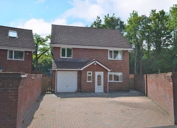 Thumbnail 4 bed detached house for sale in Large Family House, Maesglas, Newport