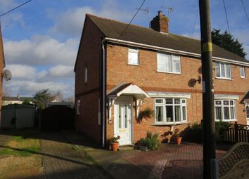 Thumbnail 3 bed semi-detached house for sale in Coronation Avenue, Crowland, Peterborough