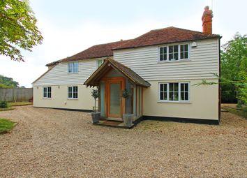 Thumbnail 5 bed detached house to rent in Cranbrook Road, Staplehurst, Tonbridge