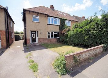 Thumbnail 3 bed semi-detached house for sale in The Hillway, Portchester, Fareham