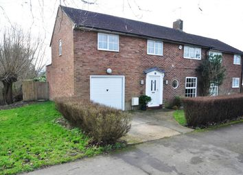 Thumbnail 4 bedroom semi-detached house for sale in Howlands, Welwyn Garden City 4Hn, Hertfordshire