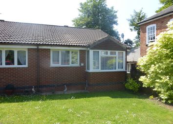 Thumbnail 1 bedroom semi-detached bungalow for sale in Margaret Anne Road, Oadby, Leicester