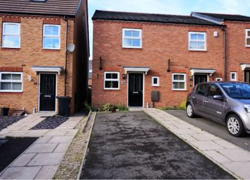 Thumbnail 2 bed end terrace house to rent in Wellspring Gardens, Dudley