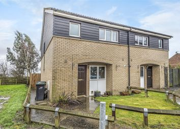 Thumbnail 3 bed semi-detached house for sale in Silvers Close, Soham, Ely, Cambridgeshire